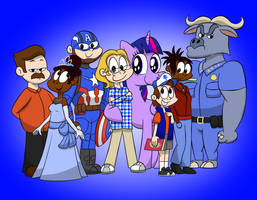 The Personality Crew by TimGoneMad
