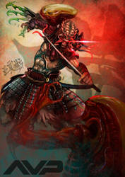 AVP Samurai Predator by Jackywang