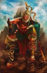 Sun Wukong by Jackywang