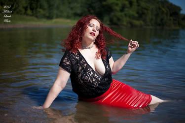 MLP Elana Wet in the River Sep17 5837 by MichaelLeachPhoto
