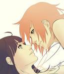 Sakura x Hinata WIP (WTF?! :'D) by V0IDsKhaos