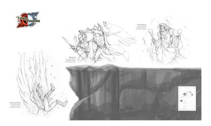TLotD - Illustration Sketch by Onimetal