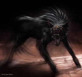 Ravenous Wolf by Onimetal