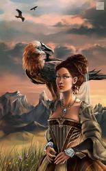 Oiseau de proie by Djoulena