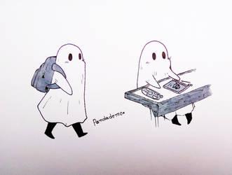 Fantasmita en la universidad by pandademo