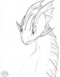 Aqua Dragon by Glorthogoot