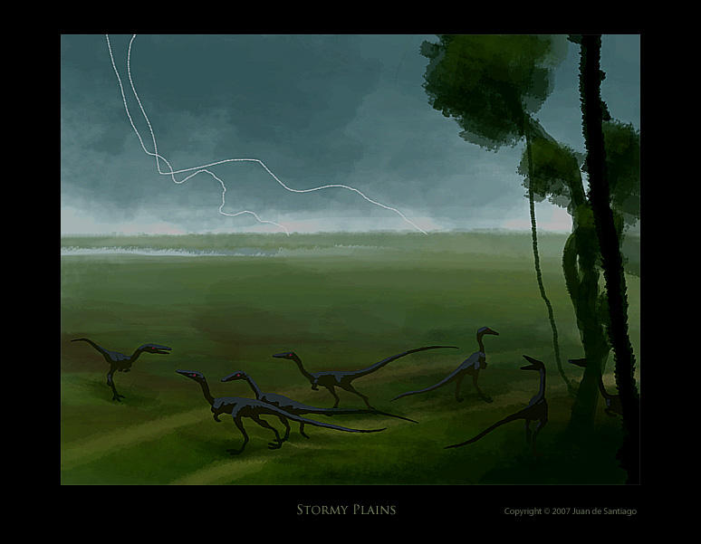 Stormy Plains by Red-Dilopho