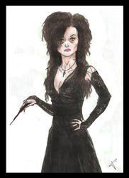 Bellatrix Lestrange by disned26