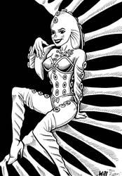 Doctor Who - Zygon Girl by WillPhantom