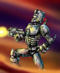 Doctor Who - Cyberman by WillPhantom