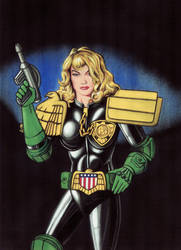 Judge Anderson by WillPhantom