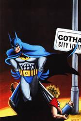 BATMAN GOTHAM CITY LIMITS by WillPhantom
