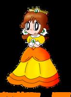 Collab: Princess Daisy by Nintooner