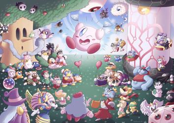 Happy 25th Anniversary, Kirby!!! by Nintooner
