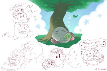 RQ: Kirby the Babysitter by Nintooner