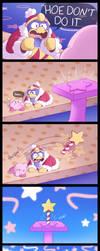 Redraw: Damn it, Kirby! by Nintooner