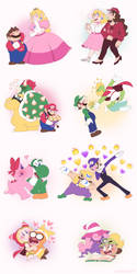 Some Mario Pairings That I Like by Nintooner