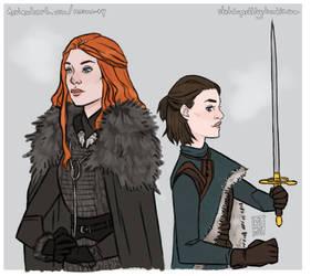 Ladies Stark by memo--ry