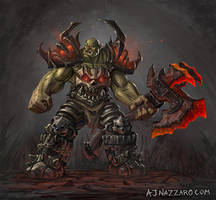 Orc Concept by AJNazzaro