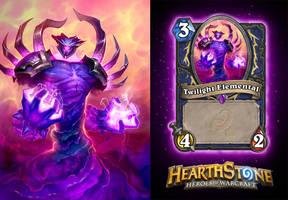 Hearthstone Twilight Elemental by AJNazzaro