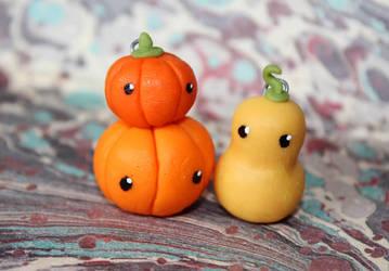 Pumpkin Charms by GloomySisterhood