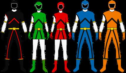 Kinkyu Sentai Rescuenger by Volt-Gokai