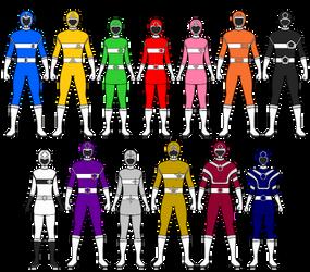 [Request Box] Power Rangers Geo Force by Volt-Gokai