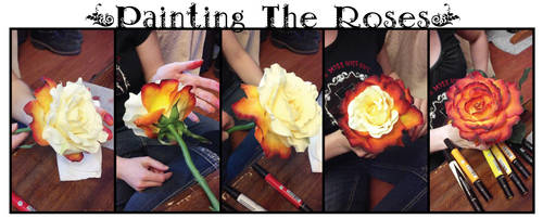 Painting the Roses by BelovedUnderwing