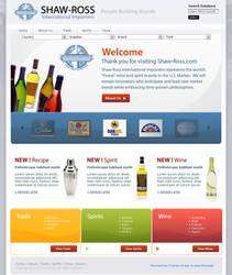 Shaw Ross Website by schhen