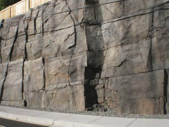 Solid Rock Wall by AmyinWonderlandofOz