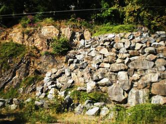 Rock Wall by AmyinWonderlandofOz
