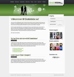 Simple webdesign by yehsper