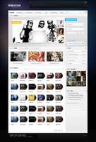 Music Community Design by yehsper