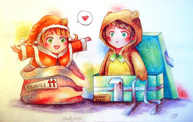 Dokiz for Christmas by Poucet