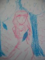 Crayon Sketch by GreedTheGreedy