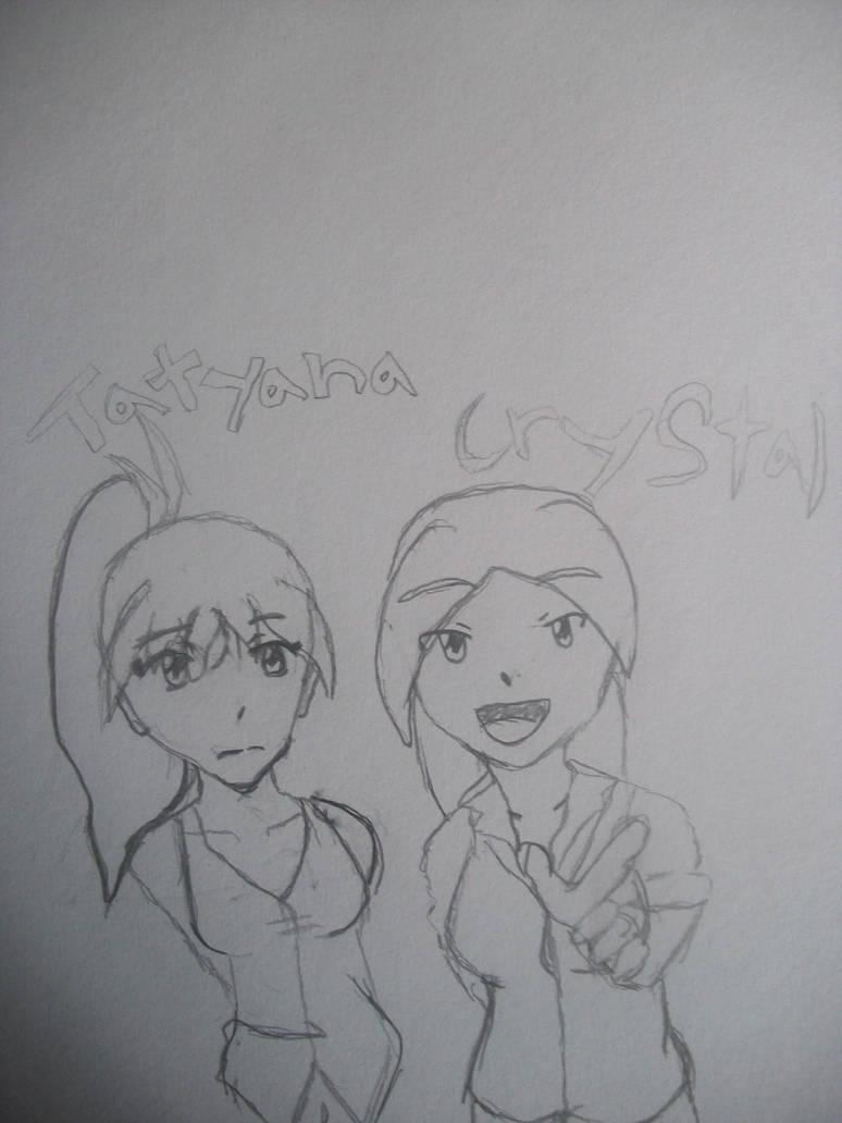 Tatyana and Crystal by GreedTheGreedy