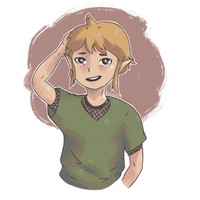 My baby Link by MarieSeuhans