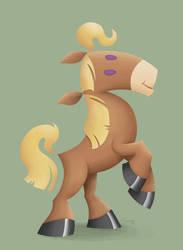 Sandra's Horse by pluckylump