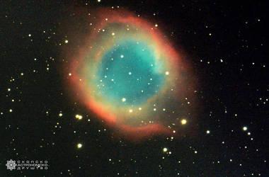Helix Nebula by Gautama-Siddharta
