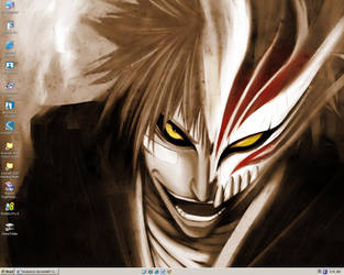 Hollow Ichigo Wallpaper by XinAsuka