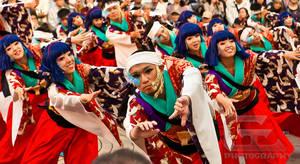 Yosakoi festival by NanoRoux