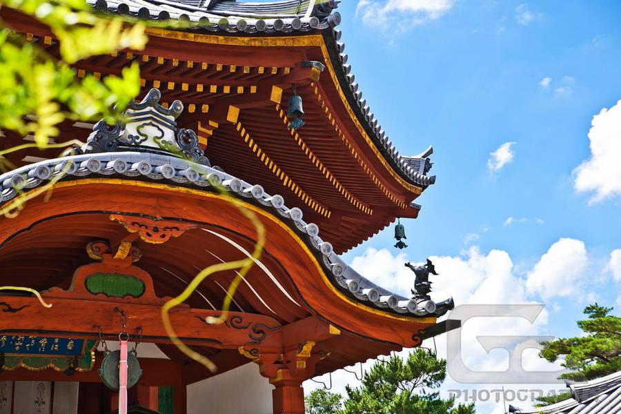 Nara temple by NanoRoux