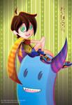 The Monster of Gael by YaninSalas