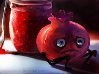 A fruit's destiny by Taikgwendo