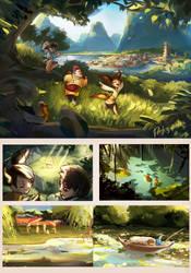 Exploration Jie by Taikgwendo