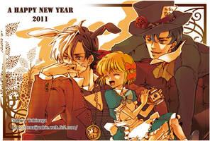 New year's card 2011_BJ by RENAIjunkie