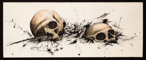 skulls by mdjkjfdv