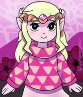 Toon Zelda by dxcamatic