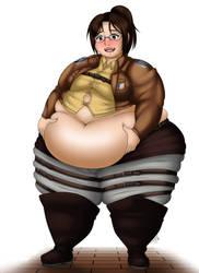 Zoe, Titan fangirl extraordinaire by ThePervertWithin