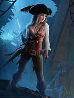 Treasure of Pirate by erlanarya
